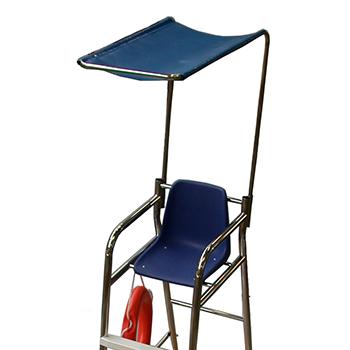 taud amovible chaise de surveillance 7302