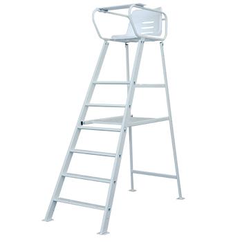 chaise de surveillance aluminium peinte